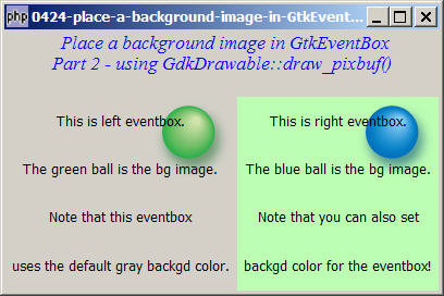 How to place a background image in GtkEventBox - Part 2 - using GdkDrawable draw_pixbuf?